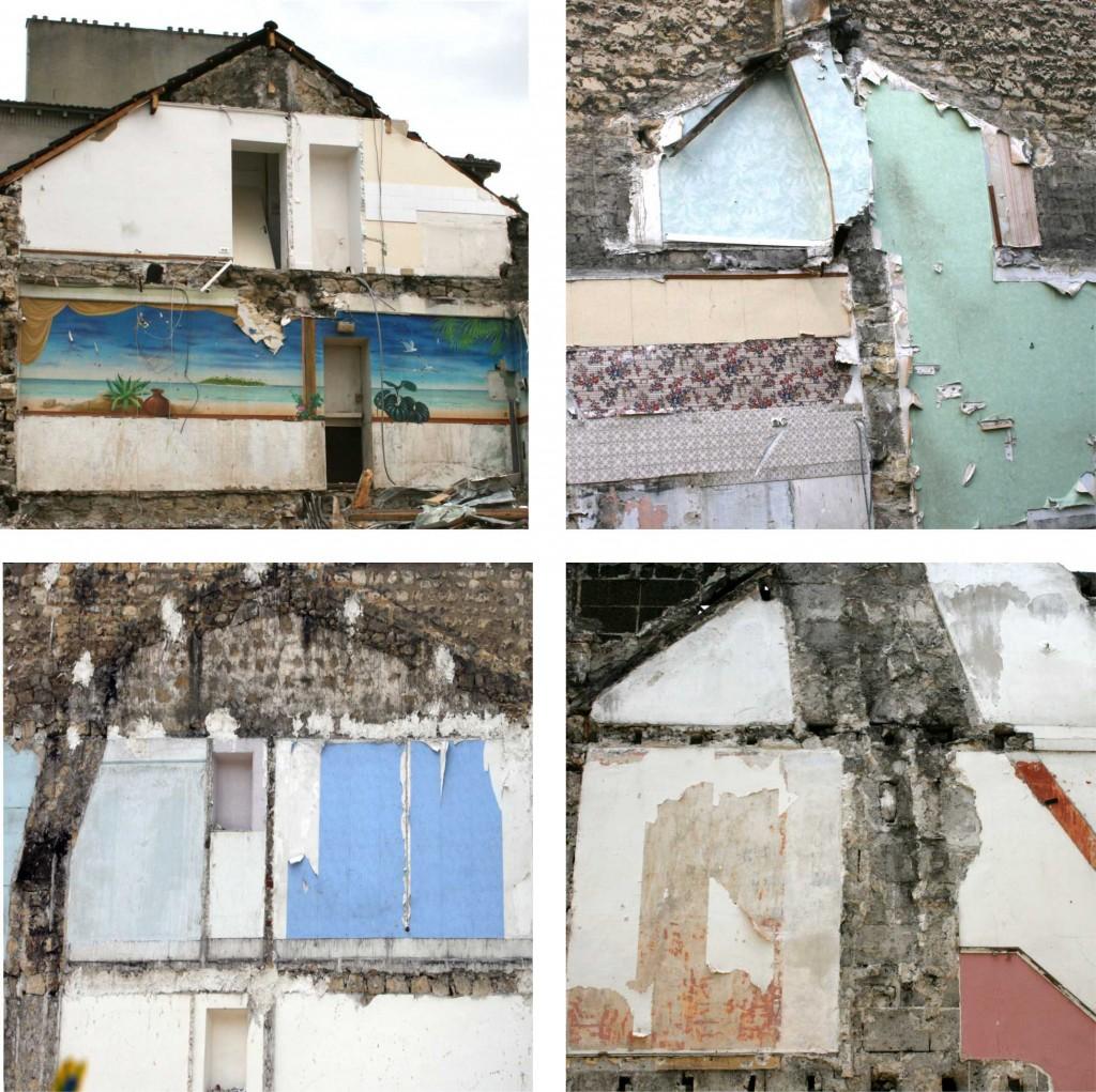 Média 4 maisons colorées